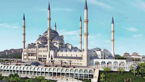 Çamlıca Camii'ni yapacak firma belli oldu