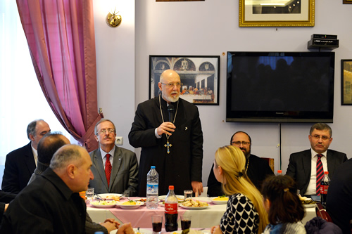 Üsküdar'da yaşayan Ermeni Cemaati, her sene 6 Ocak'ta kutlanan Hz. İsa'nın doğum günü (Surp Zınunt) için Surp Haç Kilisesi'nde tören düzenledi.
