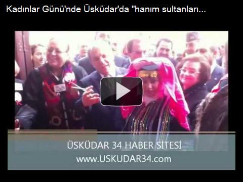 Kadınlar Günü'nde Üsküdar'da ''hanım sultanların'' nakışları sergilendi
