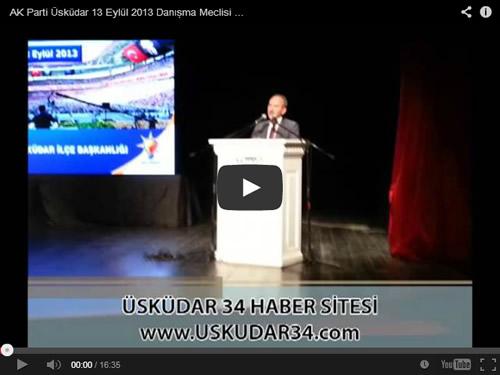 AK Parti Üsküdar İlçe Başkanı Sinan Aktaş, ''Yerel Yönetimler Gündemli'' programda konuştu