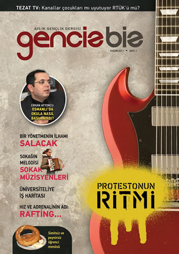 Üsküdar Gençlik Merkezi'nin koordinasyonunda yayın hayatına hazırlanan ''GencizBiz'' dergisinin ilk sayısı çıktı.