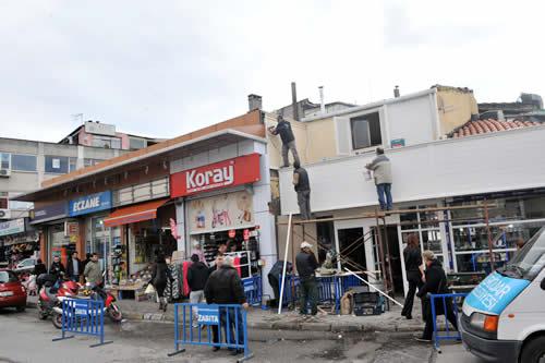 ''Cephe İyileştirme'' projesi Üsküdar'da bazı güzergahlarda uygulanarak faaliyete geçirildi.