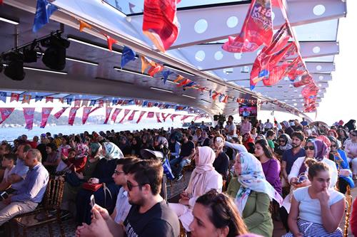 27. Uuslararası Katibim Festivali etkinlikleri Valide Sultan Gemisi'nde devam etti