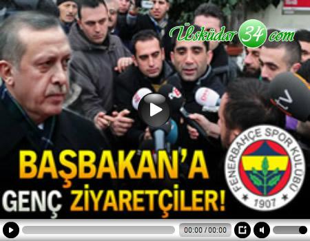 Genç Fenerbahçeliler Başbakan Erdoğan'a 'Geçmiş Olsun. İnşalah tez zamanda bizimle olur' dileklerini ilettiler.