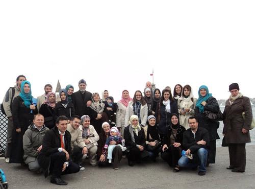 Bosna'lı Şehit Ailelerini Kucakladık
