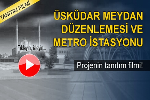Üsküdar Meydan projesinde semtin dokusuna ve tarihine uygun ticaret alanları olarak.