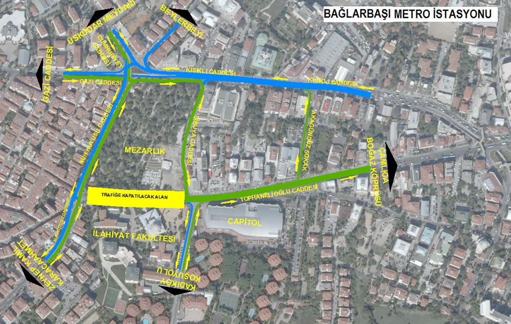 Anadolu Yakası'nın ikinci metro hattı olan Üsküdar-Ümraniye-Çekmeköy-Sancaktepe Metro Hattında çalışmalar aralıksız sürüyor.
