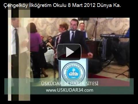 Esat Kalay, Çengelköy İlköğretim Okulu, Okul Aile Birliği, 8 Mart Dünya Kadınlar Günü Kutlama Programı