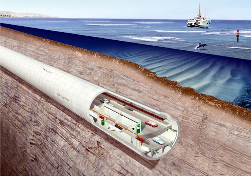 Avrasya Tüneli'nde çalışmalar başladı