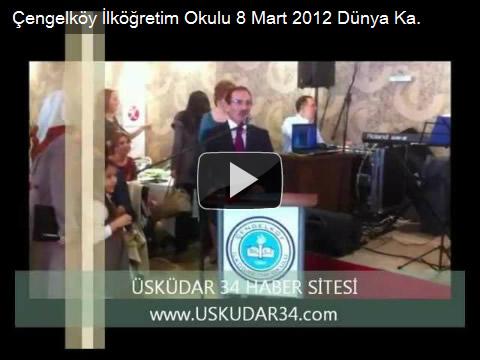 İlyas Tekin, Çengelköy İlköğretim Okulu, Okul Aile Birliği, 8 Mart Dünya Kadınlar Günü Kutlama Programı