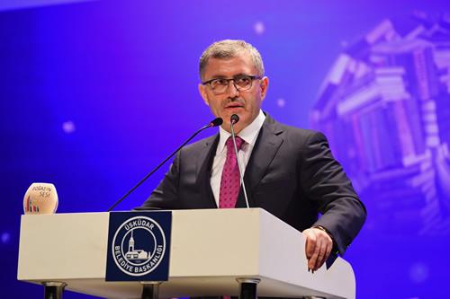 Üsküdar Belediye Başkanı Hilmi Türkmen ise açılıştaki konuşmasında Üsküdar'ın bir kültür şehri olduğunu söyledi