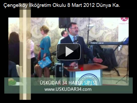 Mustafa Kara, Çengelköy İlköğretim Okulu, Okul Aile Birliği, 8 Mart Dünya Kadınlar Günü Kutlama Programı