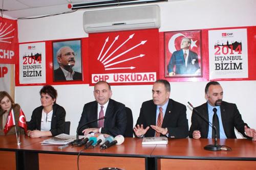 CHP Genel Başkan Yardımcısı Gürsel Tekin 19 Nisan 2013 Cuma günü CHP Üsküdar İlçe binasını ziyaret etti.