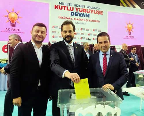 Adem Kaan Pehlivan, AK Parti Üsküdar İlçe Başkanı oldu