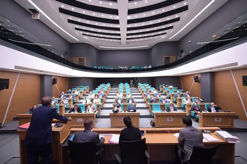 Üsküdar Belediyesi 2017 yılı bütçesi, belediye meclisinde görüşülerek oy çokluğuyla kabul edildi.