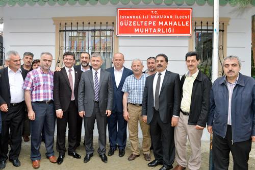 GÜZELTEPE MAHALLESİ'NDE BAŞKAN TÜRKMEN'E YOĞUN İLGİ
