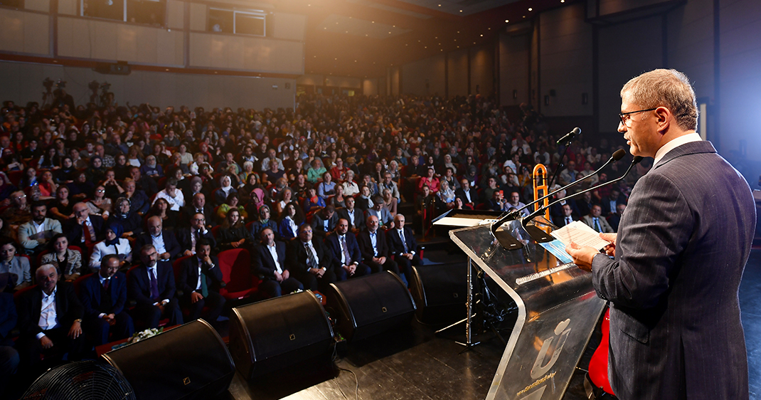 Üsküdar Belediye Başkanı Hilmi Türkmen 2019-2020 Kültür ve Sanat Sezonu açılış konuşması
