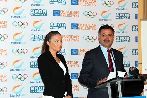 Sporu Tabana Yayma Projesine verdiği önem sonrası Olimpiyat Şampiyonu Aslı Çakır Alptekin gibi isimleri Türk sporuna kazandıran Üsküdar Belediyesi,