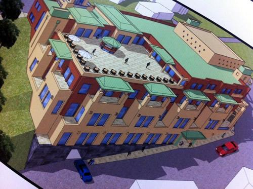 On bin metrekare kapalı alana sahip olan kirazlıtepe yaşam merkezi