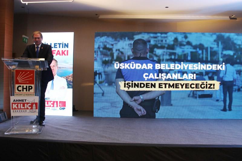 Millet İttifakı Üsküdar Belediye Başkan Adayı Ahmet Kılıç, Üsküdar'a Nefes Aldıracak Projelerini açıkladı.