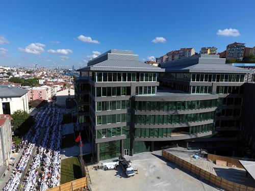 Fethi gören şehir Üsküdar'a yakışan yeni hizmet binasının açılış töreni gerçekleşti.