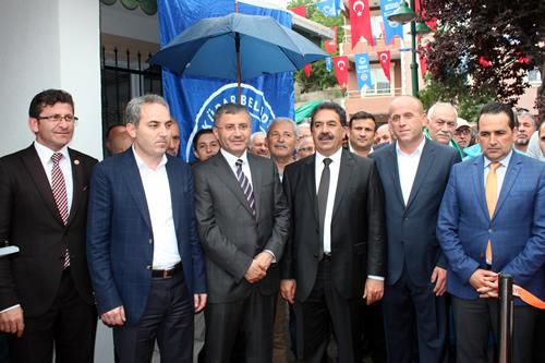 Güzeltepe Mahallesi yeni muhtarlık binası açılış töreni