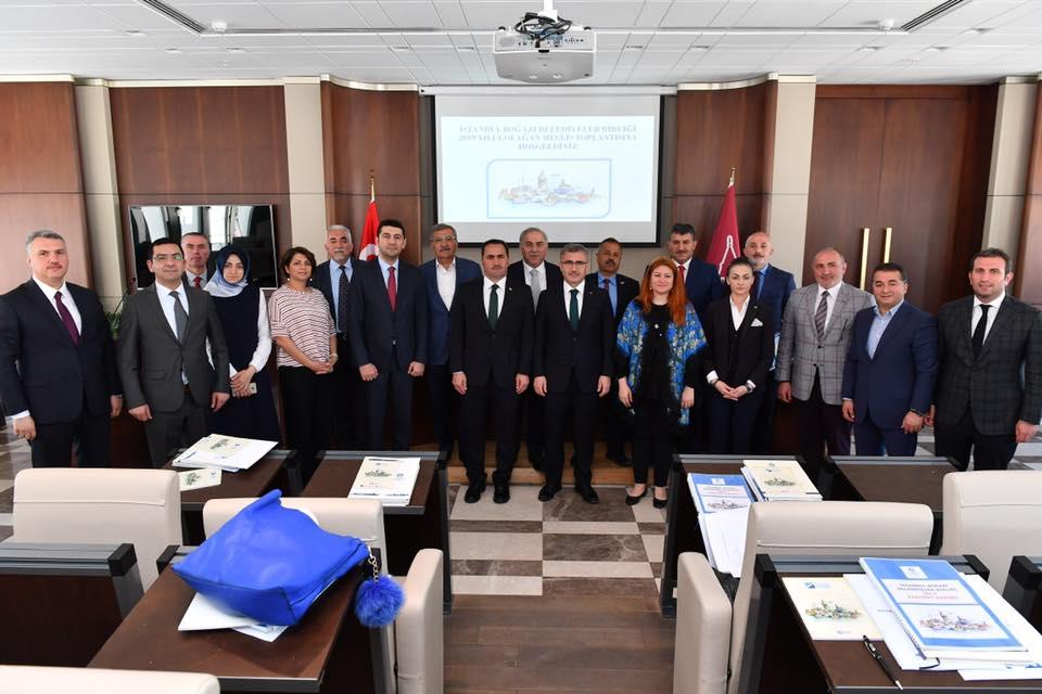 Üsküdar Belediye Başkanı Hilmi Türkmen, İstanbul Boğazı Belediyeler Birliği Başkanı seçildi.