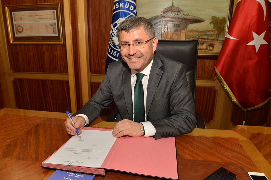 Üsküdar Belediye Başkanı Hilmi Türkmen