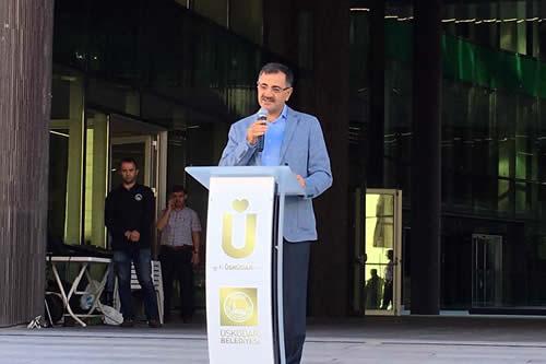 Mustafa Kara, ''Yeni hizmet binası Üsküdar'a hayırlı uğurlu olsun''