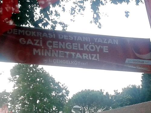 15 Temmuz Hain darbe girişimine engel olan Çengelköy'ün duruşması 17 Nisan 2018 Salı günü, Silivri'de başlıyor.