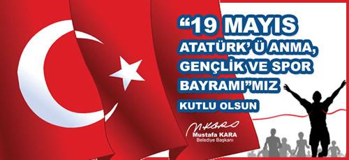 Üsküdar Belediye Başkanı Mustafa Kara, 19 Mayıs Atatürk'ü Anma, Gençlik ve Spor Bayramı nedeniyle bir kutlama mesajı yayınladı.