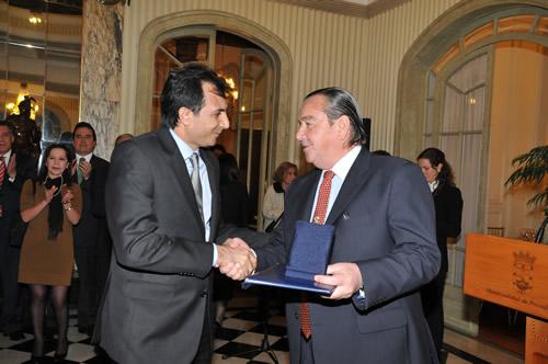 Üsküdar Belediyesi, Şili Ulusal Devlet Madalyası ve Takdir Belgesi'ne değer görüldü.