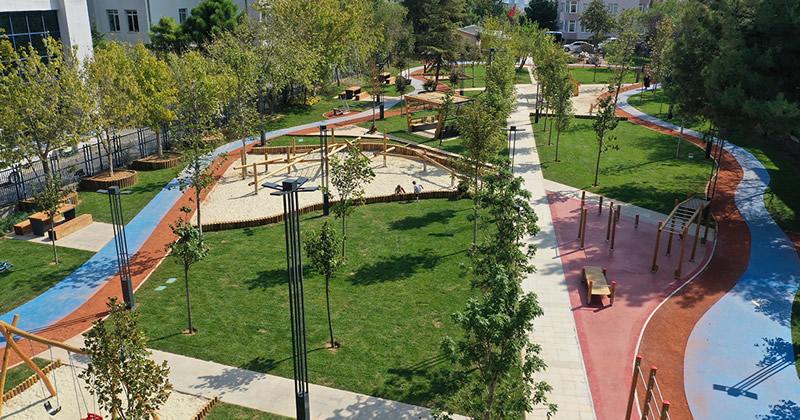 Üsküdar Acıbadem Şehit Mete Sertbaş Parkı