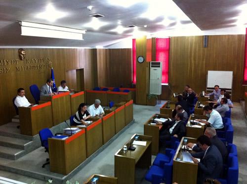 Üsküdar Belediye Meclisi Haziran ayı olağan toplantısı Meclis Salonu'nda gerçekleştirdi.