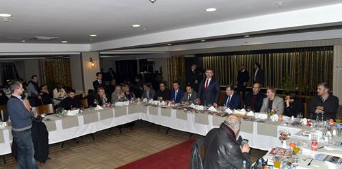 ''Çalışan Gazeteciler Günü'' Üsküdar'da kutlandı