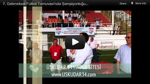 24. Uluslararası Kâtibim Kültür ve Sanat Şenliği kapsamında düzenlenen Üsküdar Belediyesi 7. Geleneksel Futbol Turnuvası'nda şampiyonluğu Selimiye Spor Kulübü kazandı.