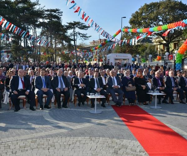 Ümraniye belediyesi tantavi sosyal tesisleri açıldı