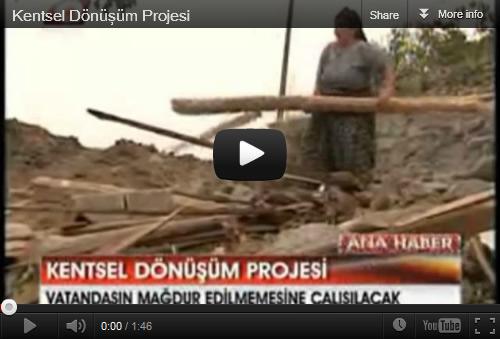 Kentsel Dönüşüm Projesi'nde öncelik İstanbul ve İzmir'de...