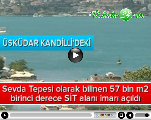 Yeşilçam filmlerinin vazgeçilmez mekanlarından Sevda Tepesi olarak bilinen 57 bin metrekarelik birinci derece SİT alanı imarı açıldı.