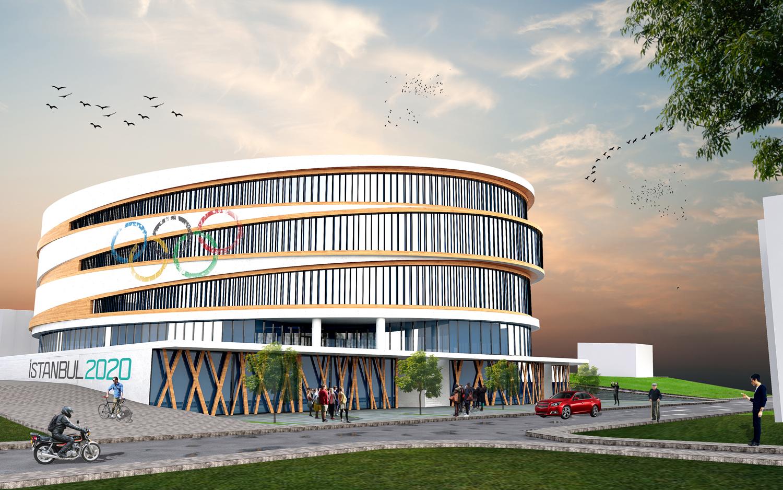 Üsküdar Belediyesi, Bağlarbaşı Spor Salonu'nu spor kompleksi haline getiriyor.