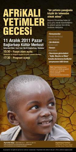 İHH İnsani Yardım Vakfı gönüllüleri Afrikalı yetimler yararına program organize ediyor