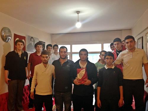 Üsküdar Ülkü Ocakları Gençlik Kolları'nda görev değişikliği...