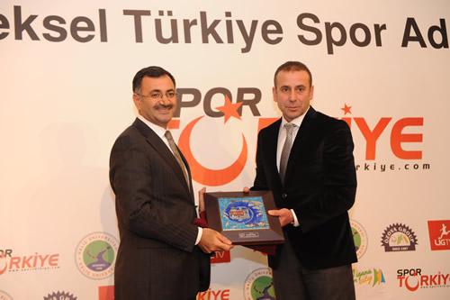 10. Geleneksel Türkiye Spor Adamları Ödül töreni Haliç Üniversitesi Mecidiyeköy Kampüsü'nde yapıldı.