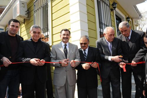 Ahmediye Mahallesi yeni Muhtarlık binası açıldı...