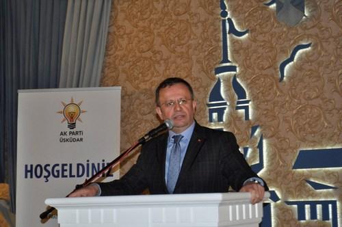 AK Parti Üsküdar Birlik, Beraberlik ve Vefa Gecesine yoğun ilgi