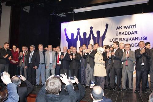 AK Parti Üsküdar İlçe Başkanlığı tarafından düzenlenen katılım töreninde değişik siyasi partilerden çok sayıda üye, AK Parti'ye katılım gösterdi.