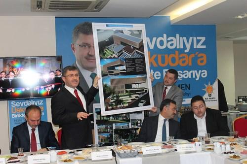AK Parti Üsküdar İlçe Başkanlığı, Üsküdar yerel basın temsilcileriyle kahvaltılı toplantı programında biraraya geldi.