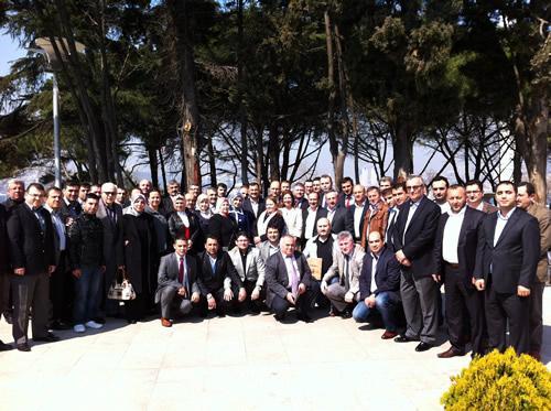AK Parti'de siyaset yapan Kastamonulular, 24 Mart 2012 Cumartesi günü Üsküdar Belediyesi Sosyal Tesisleri'de AK Parti Üsküdar İlçe Başkanı Sinan Aktaş'ın ev sahipliğinde düzenlenen tanışma toplantısıyla biraraya geldi.