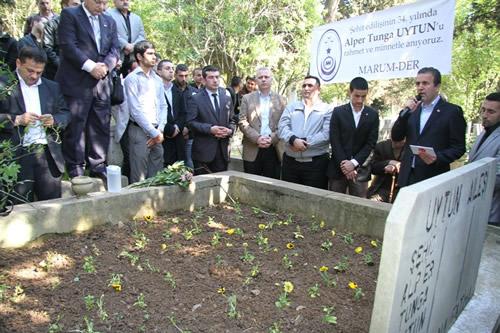 Şehadet şerbetini kana kana içişinin 34. Yılında Üsküdar Ülkü Ocakları tarafından Çengelköy Çınaraltı Hamdullah Paşa Cami'inde Mevlüt okutuldu.