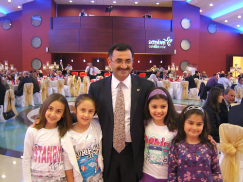 Ata-2 Sitesi Ba�kan Mustafa Kara'y� misafir etti...
